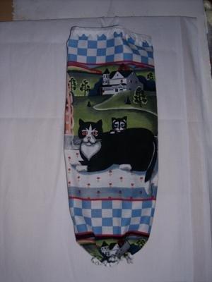 MadieBs Sweet Kitty Cat  Plastic Bag Holder Dispenser