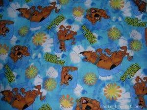 MadieBs Scooby Doo Aqua Toddler Pillowcase Set 2 w/name