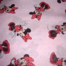 MadieBs Minnie Mouse Toddler Bed Sheet Set 3 Pc