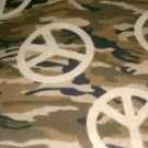 MadieBs Peace Sign Camo Custom  Pillowcase  w/Name