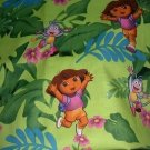 MadieBs Dora Boots Jungle  Custom  Pillowcase  w/Name