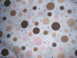 MadieBs Multi Colored Dots Toddler Bed Sheet Set 3 Pc