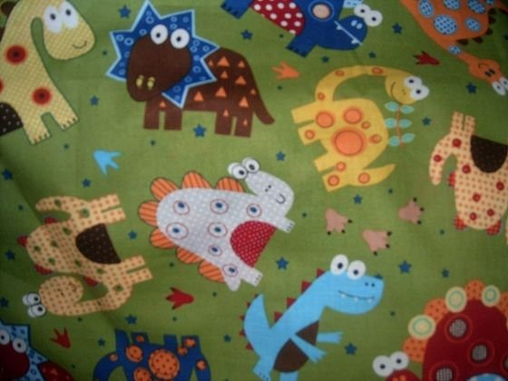 MadieBs Dinosaur Fun Colors  Nap Mat Pad Cover w/Name
