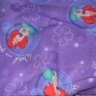 MadieBs  Ariel Kinder Nap Mat Pad Cover Set  w/Name