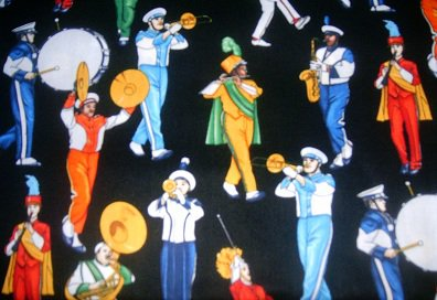 MadieBs Colorful Marching Band Personalized Pillowcase
