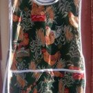 Oh My Chickens Hens Roosters  Custom Smock Cobbler Apron