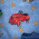 MadieBs Pedal Cars of the 50's Cotton Personalized Custom  Pillowcase  w/Name