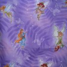 MadieBs Fairies on Purple Cotton  Personalized Custom  Pillowcase  w/Name