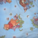 MadieBs Pooh Bear Fleece Blanket 30 x 36 New Baby Plush