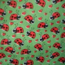 MadieBs Red LadyBugs Lady Bug Cotton  Personalized Custom  Pillowcase  w/Name