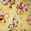 MadieBs Circus  Monkey  Cotton  Personalized Custom  Pillowcase  w/Name