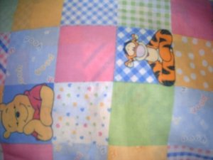 MadieBs Winnie Pooh Custom Toddler Bed Sheet Set