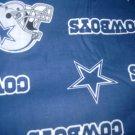 MadieBs Dallas Cowboys NFL  Bumper Pads w/Crib Sheet