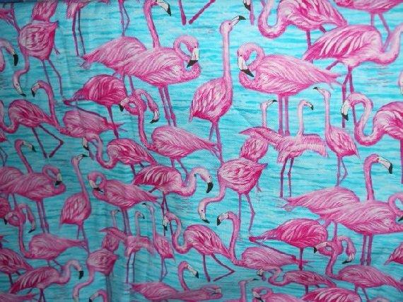MadieBs  Bright Flamingos on  Cotton  Personalized Custom  Pillowcase  w/Name