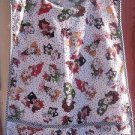 MadieBs Ladies Hats Faces Loralee Cotton Fabric Custom Smock Cobbler Apron