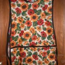 MadieBs Orange and Yellow Flowers Smock Cobbler Apron