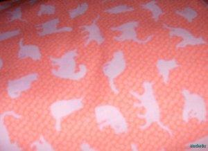MadieBs Cute Kitties Kittens Cats Felines  Nap Mat Pad Cover w/Name