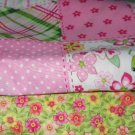 MadieBs John Deere  Pink Plaid   Custom Crib Set New