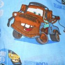 MadieBs Disney Cars McQueen on Blue Nap Mat Pad Cover w/Name