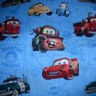 MadieBs Disney Cars on Map Nap Mat Pad Cover w/Name