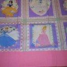 MadieBs Princess Cinderella  Nap Mat Pad Cover w/Name