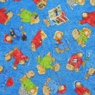 MadieBs Paddinton Bear ColorfulToddler Pillowcase w/name