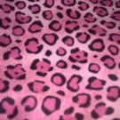 MadieBs Set of 2 Pink Cheeta Fitted Cotton Crib Sheets