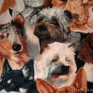 MadieBs Breeds of Dogs Cotton Personalized Custom  Pillowcase  w/Name
