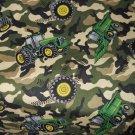 MadieBs John Deere Tracter Camo  Nap Mat Pad Cover 3 piece set  w/Name