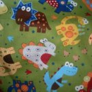 MadieBs Cute Colorful Dinosaurs  Nap Mat Pad Cover 3 piece set  w/Name
