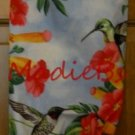 MadieBs Humming Birds Hummers Flowers Plastic Bag Holder Dispenser