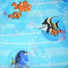 MadieBs Nemo and Friends Aqua  Cotton  Fitted  Crib Sheet Custom New