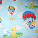 MadieBs Air Balloon Bears Cotton  Fitted  Crib Sheet Custom New