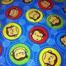 MadieBs Curious George Looking at You Cotton Personalized Custom  Pillowcase