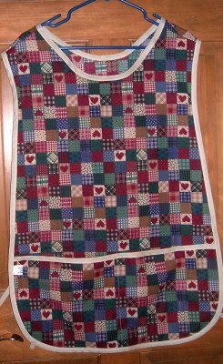 MadieBs Calio Country Hearts Cotton New Custom Smock Cobbler Apron