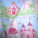 MadieBs Little Princess Castles Fitted  Crib Sheet Custom New