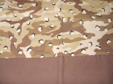 MadieBs Brown Tan Camo Cotton Personalized Custom  Pillowcase  w/Name