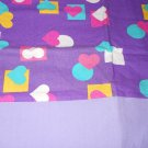 MadieBs Plenty of Colorful Hearts Cotton Personalized Custom  Pillowcase  w/Name