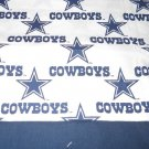 MadieBs Dallas Cowboys NFL   Cotton Personalized Custom  Pillowcase  w/Name