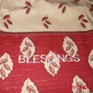 MadieBs A Pair of Blessings Cotton Personalized Custom  Pillowcase  w/Name