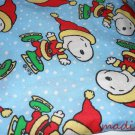 MadieBs Snoopy in Santa Hat Cotton Personalized Custom  Pillowcase  w/Name