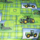 MadieBs Set of 2 John Deere Plaid New Custom Fitted Cotton Crib Sheets