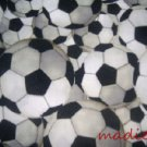 MadieBs Set of 2 Soccer Balls New Custom Fitted Cotton Crib Sheets