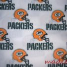 MadieBs Set of 2 Green Bay Packers NFL  New Custom Fitted  Cotton  Crib Sheets