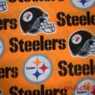 MadieBs Set of 2 Steelers NFL  New Custom Fitted  Cotton  Crib Sheets