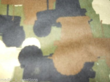 MadieBs John Deere Camo Cotton Flannel  Fitted  Crib Sheet Custom New