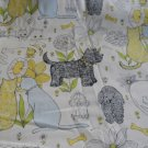 MadieBs Dogs and Catsf Fitted  Crib Sheet Custom New