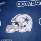 MadieBs Callas Cowboys NFL Football  Cotton Fitted  Crib Sheet Custom New