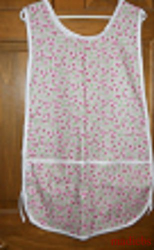 MadieBs Strawberries on Pink Check  New Custom Smock Cobbler Apron