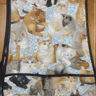 MadieBs Cats and Kittens Felines  Cotton New Custom Smock Cobbler Apron